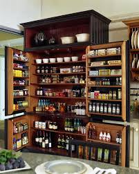 pantry storage cabinet kitchen farmhouse with food cupboard