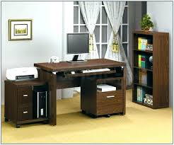 computer and printer table printer table with storage computer desk with printer shelf compact