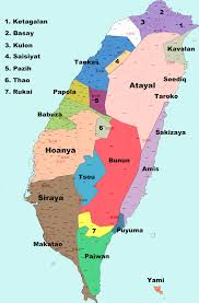 Map Of Taiwan Sakizaya People Wikipedia