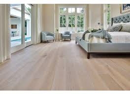 white oak light brushed white with a