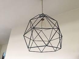 Geometric Pendant Light by Ikea Brunsta Geometric Pendant Lamp Shade In Burley West
