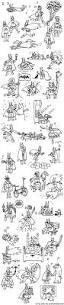 a sketch of 40 amazing batmen sharks bears ballerinas and pancakes
