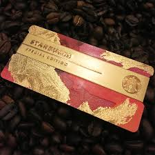 starbuck gold card starbucks cards 2016 diyosa