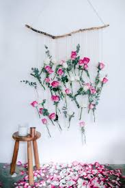Flower Decoration For Home by Wall Decoration Hanging Home Decoration For Interior Design Styles