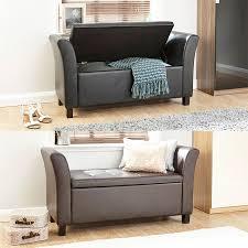 leather blanket box furniture ebay