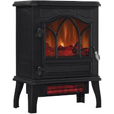 Infrared Heater Fireplace by Chimney Free Electric Infrared Quartz Stove Space Heater Flame