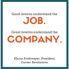 acing the internship make the most out of your next internship