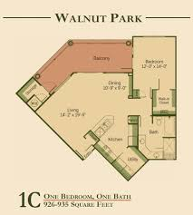 Bath Floor Plans by Walnut Park Apartments Apartments In Austin Texas