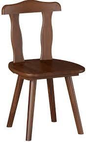 chaise en pin chaise pin teinté marron stan lot de 2 lestendances fr