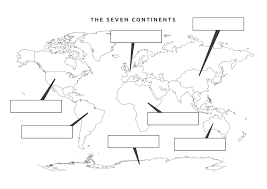 Seven Continents Map Worksheets For All Download And Share Worksheets Free On