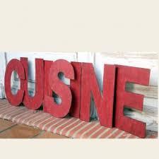 lettres d馗oratives cuisine 7 lettres cuisine métal décoration murale figures
