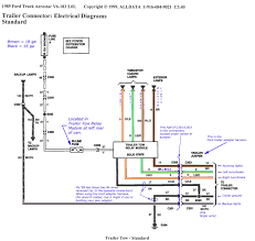 wiring diagrams 4 flat trailer 7 pin harness in diagram for truck