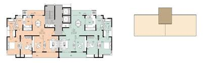 Apartment Building Floor Plans two combined apartment building plan 1t2 design designed 2010