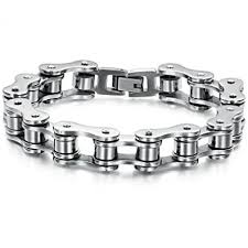 bracelet stainless steel images New men 39 s titanium stainless steel bracelet harley jpg