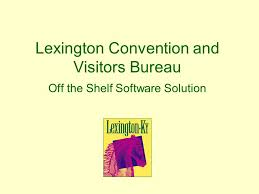 solution bureau convention and visitors bureau the shelf software
