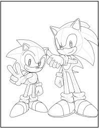 sonic generations image coloring pages for kids fae printable