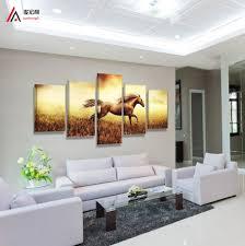 aliexpress com buy 5 panel modern home decor modular picture