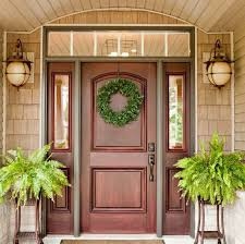 front doors with side lights 27 cool front door designs with sidelights shelterness