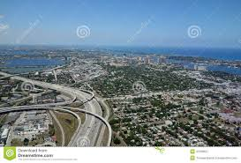Map Of West Palm Beach Florida by Aerial View Of West Palm Beach Florida Stock Photo Image 41539847