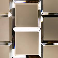 Bevelled Floor Mirror by Bronze Beveled 4x4 Mirror Tile