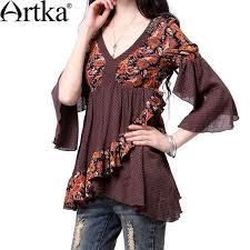 trendy chiffon tunics design with butterfly sleeves ideas