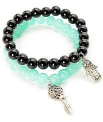 bead bracelet stone images Bead bracelet zumiez jpg