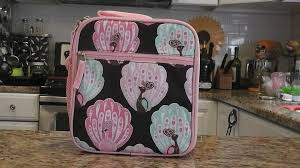pottery barn mackenzie classic lunch box review youtube