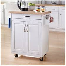 kitchen island or cart amazon com mainstays kitchen island cart white this stylish