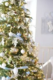 blue christmas decor french country home decor party decor