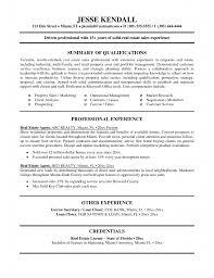 real estate resume templates real estate experience resume real estate experience resume free