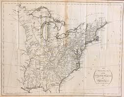 1783 Map Of The United States by Antique Maps Of The United States