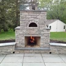 Discount Outdoor Fireplaces - prefab pizza oven fireplace outdoor fireplace with pizza oven