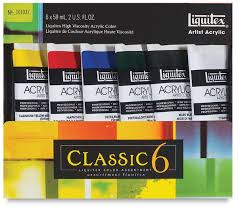 liquitex professional heavy body acrylics blick art materials