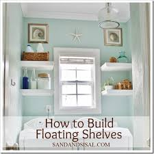How To Make Floating Shelves by How To Build Floating Shelves Sand And Sisal