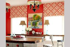 Red Kitchen Curtain by 30 Terrific Kitchen Curtain Ideas Slodive