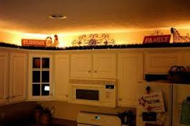 lights above kitchen cabinets lighting above cabinets using 24 foot rope light 15 00 home