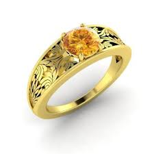 citrine engagement rings citrine engagement rings in yellow gold and solitaire design