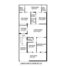 House Design 15 30 Feet 100 120 Sq Yard Home Design House Plan For 30 Feet By 45