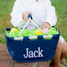personalized easter baskets for kids personalized easter basket kids monogrammed easter egg basket