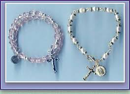 rosary bead bracelet rosary bracelet how to s my catholic faith rosary