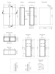 storage cabinet floor mounted double door stainless steel