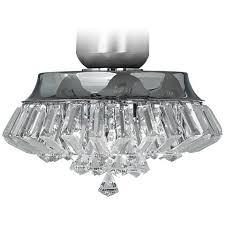 light attachment for ceiling fan deco crystal chrome universal ceiling fan light kit v5824 ls