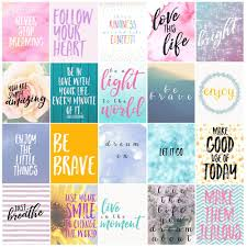 quote cards for planner free motivational printable planner stickers love paper crafts