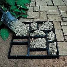 Brick Patio Diy Diy Grid Driveway Paving Brick Patio Concrete Slabs Path Garden