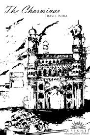 colouring pages of qutub minar qutb minar in delhi vintage