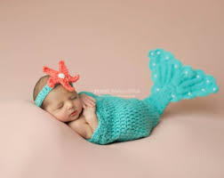 baby mermaid princess crochet newborn mermaid tail u0026