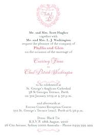 Wedding Invitation Wording From Bride And Groom Simple Wedding Invitation Wording From Bride And Groom