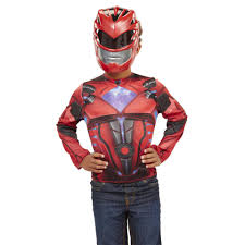 ironman halloween costume power rangers movie dress up red ranger toys