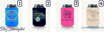 wedding koozie quotes the most popular wedding design for your koozies