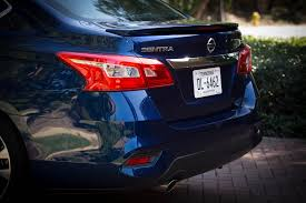 nissan sentra light blue 2016 nissan sentra first drive review motor trend